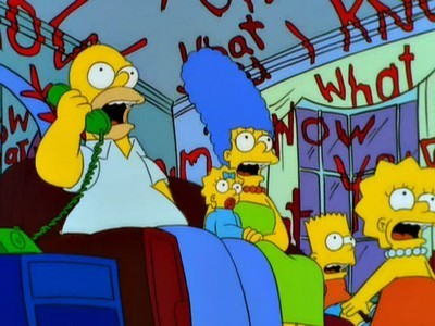 The Simpsons - Season 11 Episode 04: Treehouse of Horror X