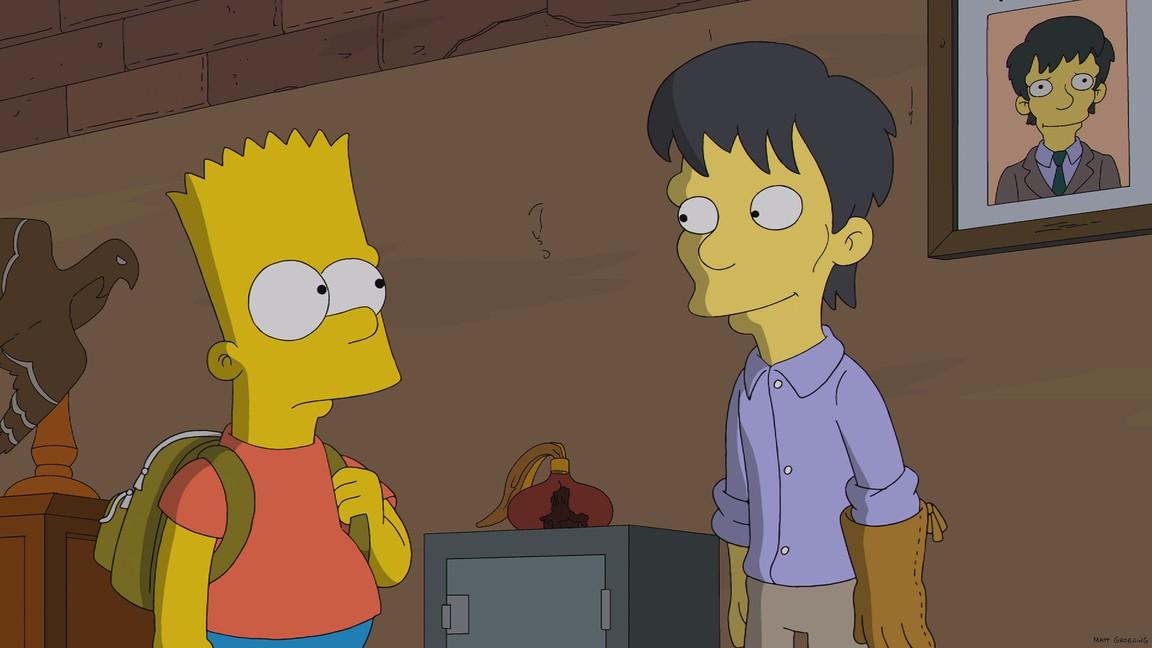 The Simpsons - Season 25 Episode 12: Diggs