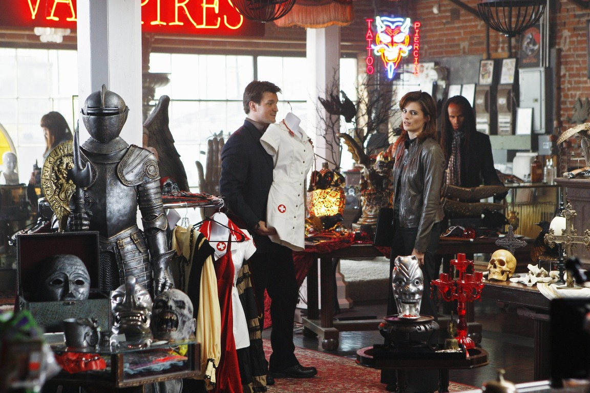 Castle - Season 2 Episode 06: Vampire Weekend