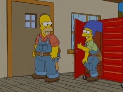 The Simpsons - Season 18 Episode 03: Please Homer, Don't Hammer 'em